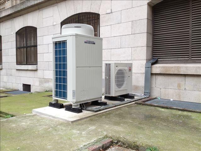 ealisation climatisation chateau